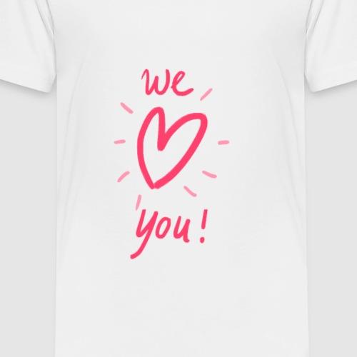 Spread the love! - Kinderen Premium T-shirt