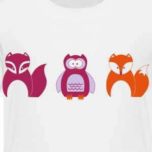 Design for Toddlers | Wildlife in Portrait - Kids' Premium T-Shirt