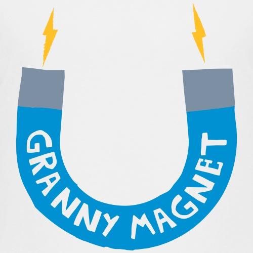 Granny Magnet (Blue) - Kids' Premium T-Shirt
