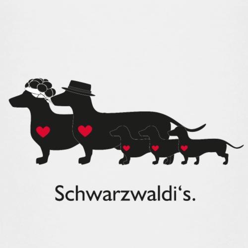 Familie Schwarzwaldi - Kinder Premium T-Shirt
