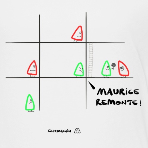 Maurice, remonte - T-shirt Premium Enfant