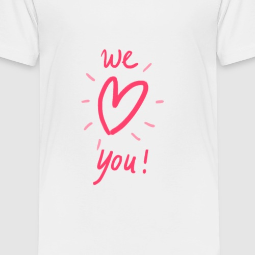 Spread the love! - Kinderen Premium T-shirt