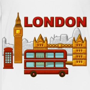 Londres, London, Inglaterra, recuerdo - Kinder Premium T-Shirt