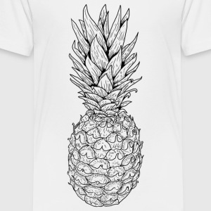 Pineapple black - Kids' Premium T-Shirt