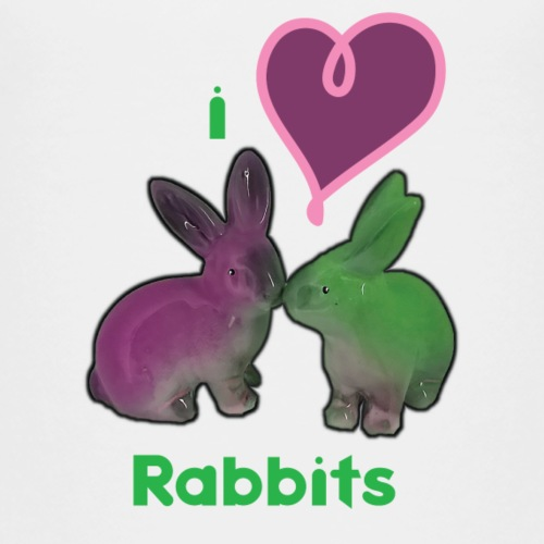 I love Rabbits - T-shirt Premium Enfant