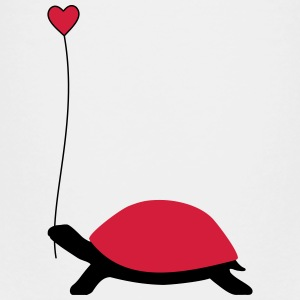 Turtle with heart balloon - Kids' Premium T-Shirt