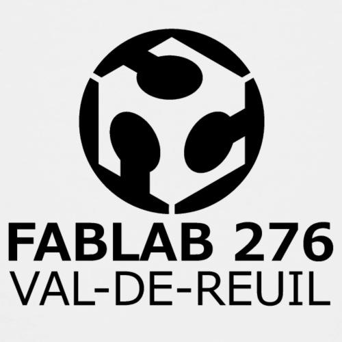 Logo FabLab 276 noir et blanc - T-shirt Premium Enfant