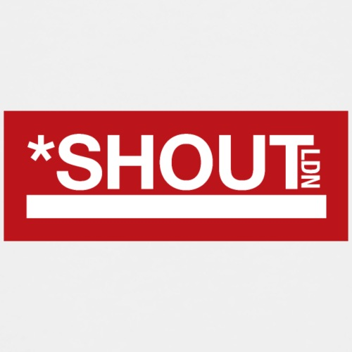 Shout LDN Logo Red - Kids' Premium T-Shirt