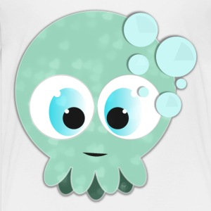 Blue BabySquid - Premium-T-shirt barn