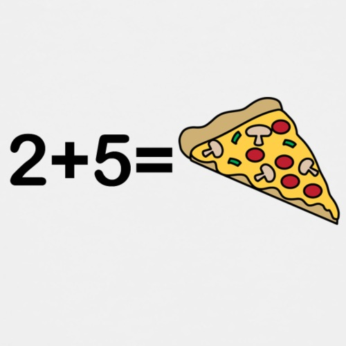 2 5 Pizza - Kinder Premium T-Shirt