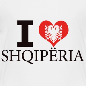I LOVE ALBANIA - Kids' Premium T-Shirt