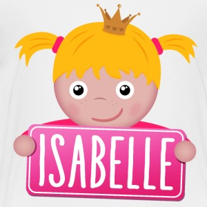 Little Princess Isabelle - Premium-T-shirt barn