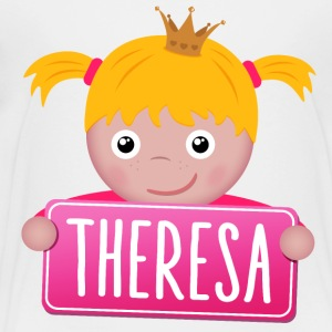 Little Princess Theresa - Premium-T-shirt barn