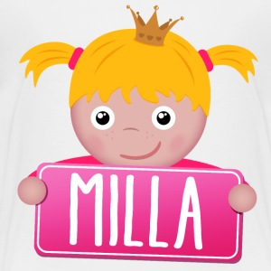 Little princess Milla - Kids' Premium T-Shirt