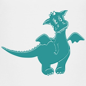 Little dragon - Kinder Premium T-Shirt