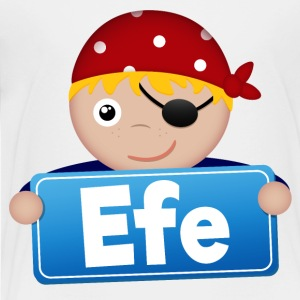 Little Pirate Efe - Premium-T-shirt barn