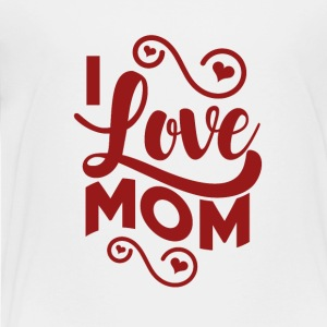 I love Mum - Cute kids shirts, bodysuits and bibs - Kids' Premium T-Shirt