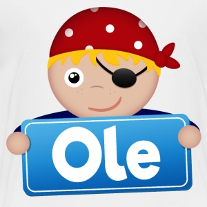 Little pirate Ole - Kids' Premium T-Shirt