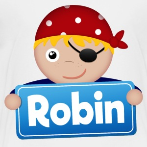 Lite Pirate Robin - Premium T-skjorte for barn