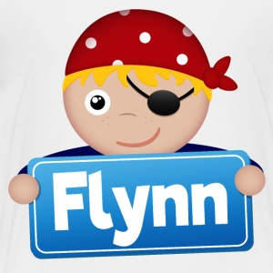 Little Pirate Flynn - Premium-T-shirt barn