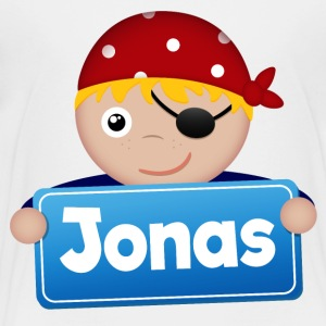 Lite Pirate Jonas - Premium T-skjorte for barn