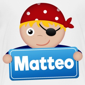 Petit Pirate Matteo - T-shirt Premium Enfant