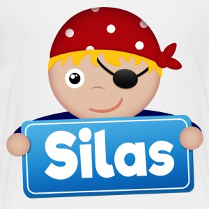 Little Pirate Silas - Kids' Premium T-Shirt