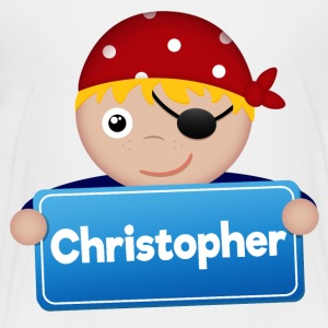 Little Pirate Christopher - Kids' Premium T-Shirt
