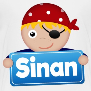 Little Pirate Sinan - Premium-T-shirt barn