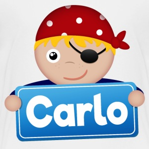 Petit Pirate Carlo - T-shirt Premium Enfant