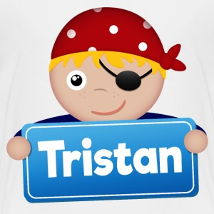 Little Pirate Tristan - Premium-T-shirt barn