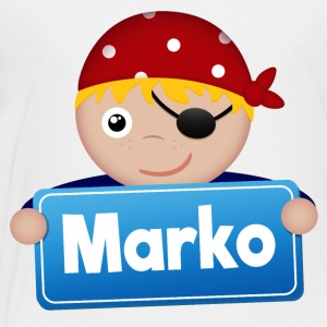 Little Pirate Marko - Kids' Premium T-Shirt