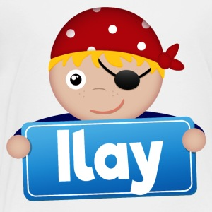 Little Pirate Ilay - Premium-T-shirt barn