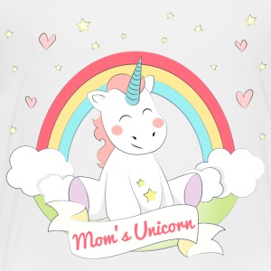 Mammas Unicorn - Premium T-skjorte for barn