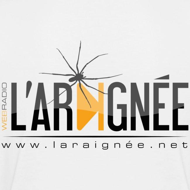 L'ARAIGNÉE, logo noir