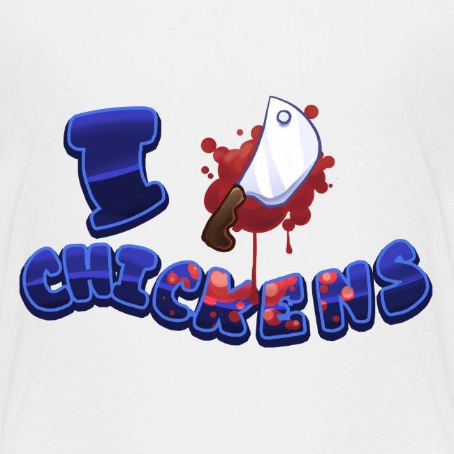 I [KNIFE] Chickens
