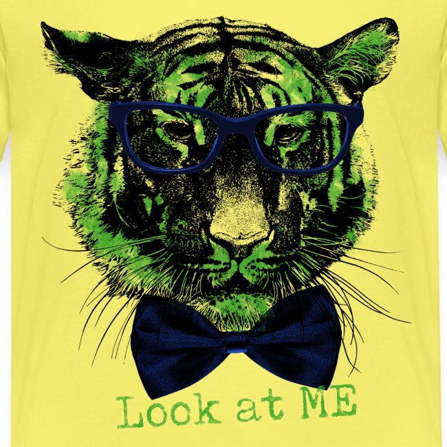Tigerkopf_Look at me