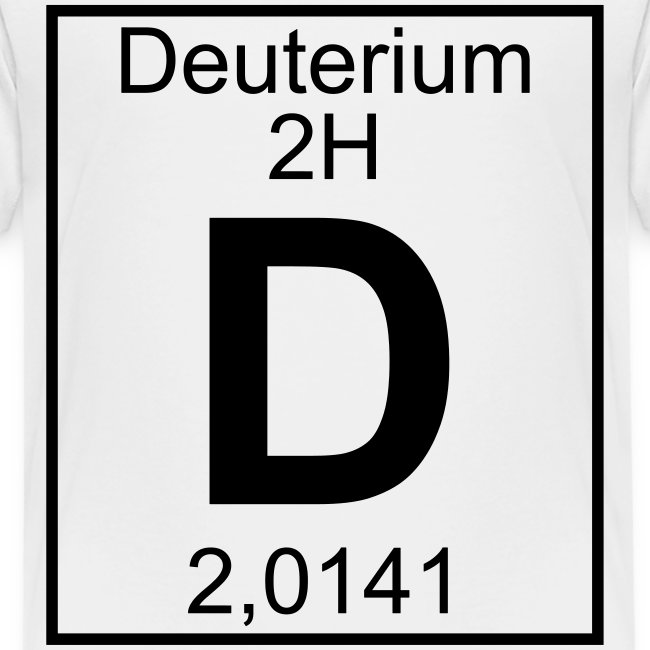 D (Deuterium) - Element 2H - pfll
