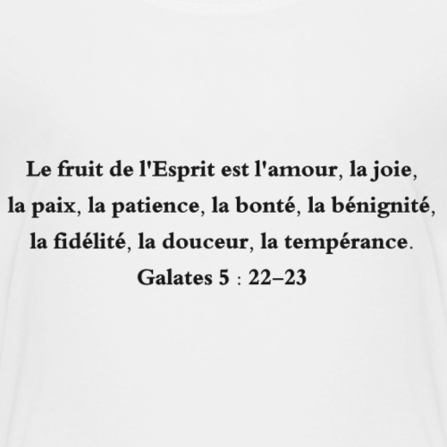Galates 5:22-23 - T-shirt Premium Enfant