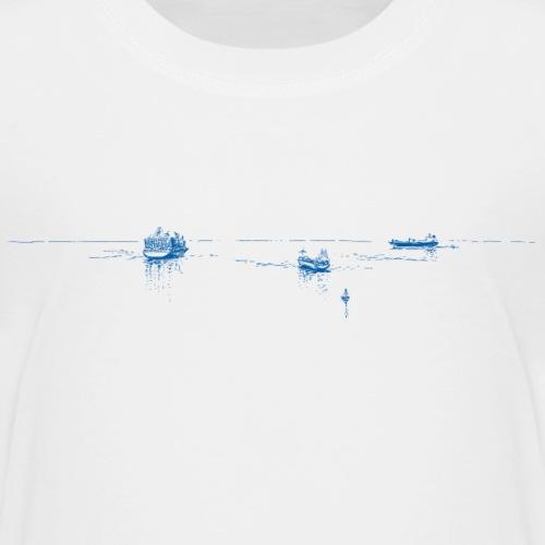 3 blaue Schiffe - Kinder Premium T-Shirt