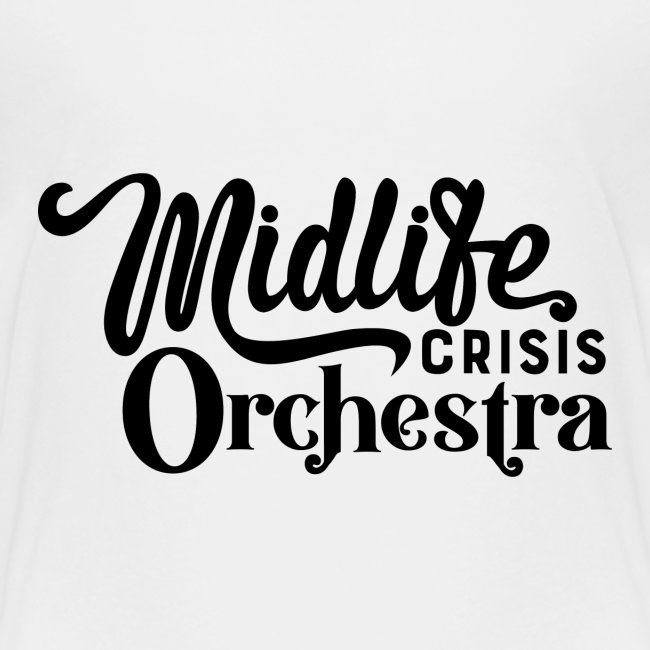 Midlife Crisis Orchestra svart logo