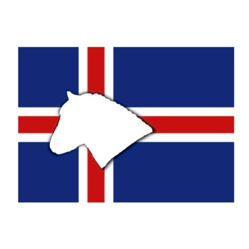 Islandpferdekopf - Kinder Premium T-Shirt