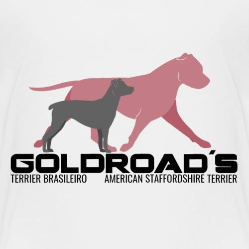 Goldroads2b - Premium-T-shirt barn