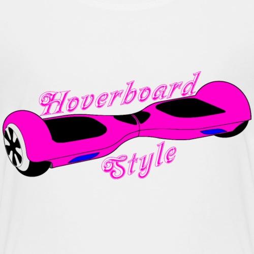 Hoverboard pink-schwarz - Kinder Premium T-Shirt