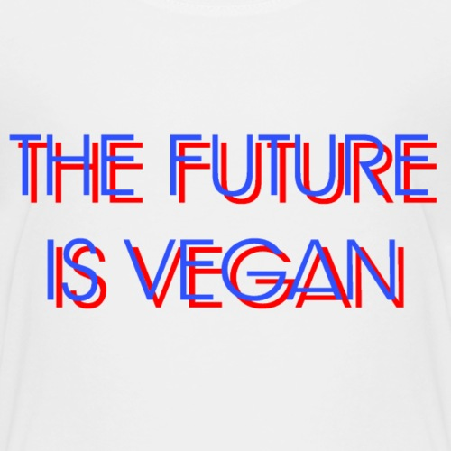 The Future Is Vegan - Kids' Premium T-Shirt