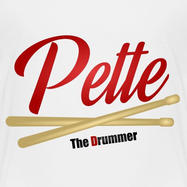 Pette the Drummer