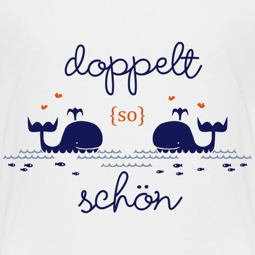Zwillinge - doppelt schön - Kinder Premium T-Shirt