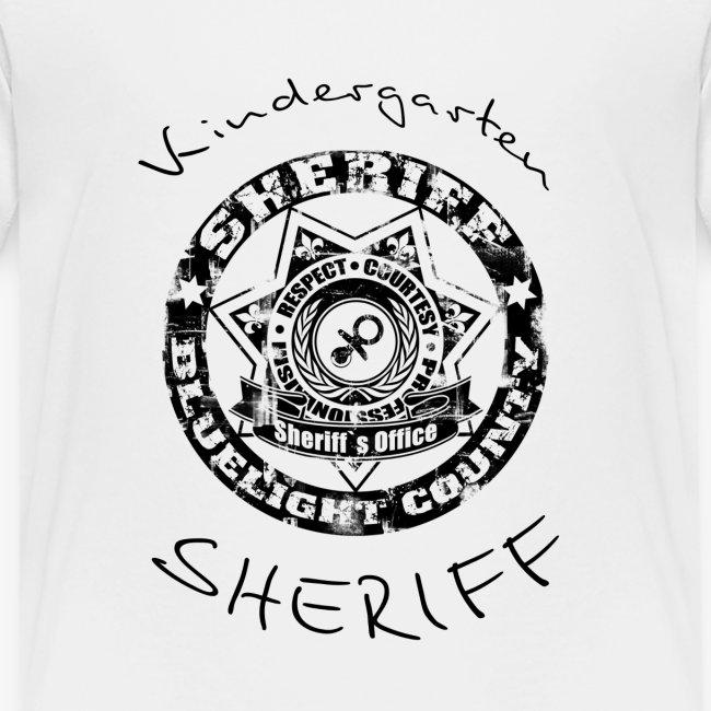 kindergarten sheriff schwarz