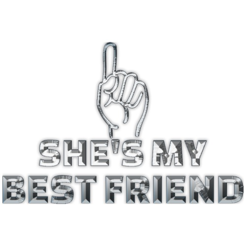 best friends - Premium-T-shirt barn