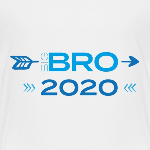 Big Bro 2020 - Großer Bruder 2020 Schwangerschaft - Kinder Premium T-Shirt